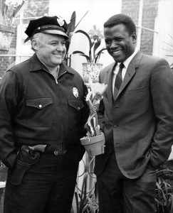 Sidney Poitier and Rod Steiger