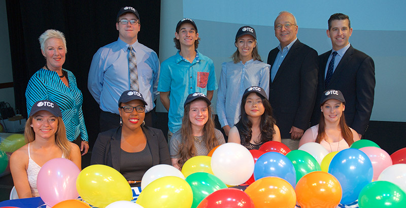TCC STEM Scholarship Signing