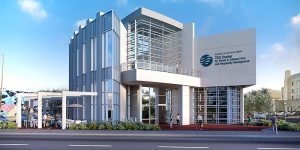 Patricia & Douglas Perry TCC Center for Visual & Culinary Arts and Hospitality Management rendering