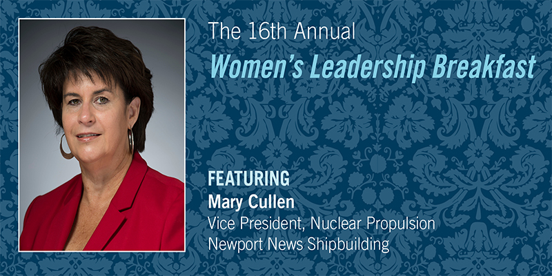 Mary Cullen, vice president for nuclear propulsion for Newport News Shipbuilding