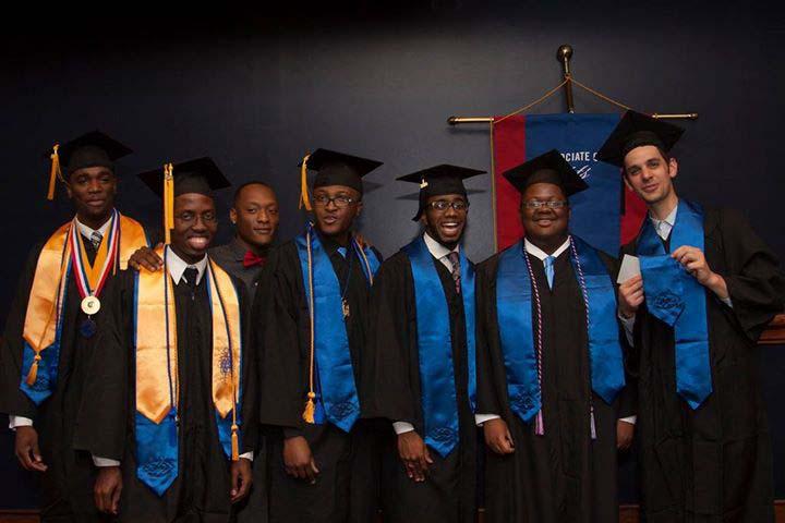 Graduating members of SAAB