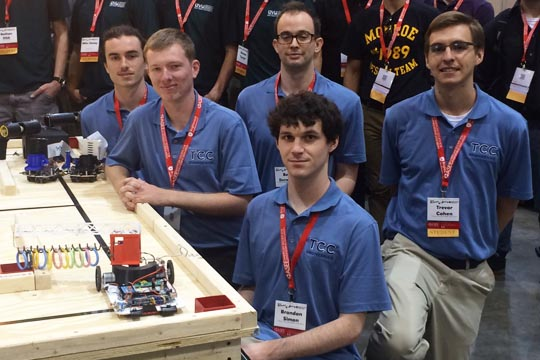 Engineering Club students take second place