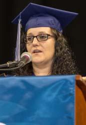 Student speaker Katrina Crowe