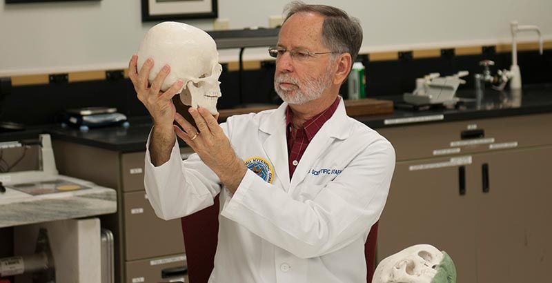 Bob Mann Forensic Anthropologist Tcc Today