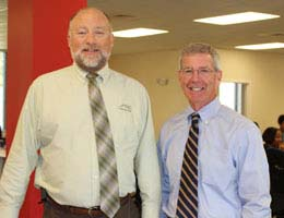 Trainers Terry Rivenbark and Doug Smith from Training Modernization Group, Inc.
