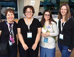 From left Carol Hodges, Heather Blicher, Dawn Walton, Mary Hanlin.