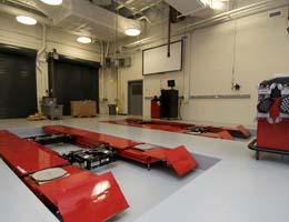 instructional laboratory bay