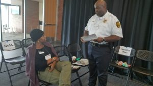 Lt. Steven Jenkins with the Portsmouth Police Department, was the officer in charge at the Realville jail.