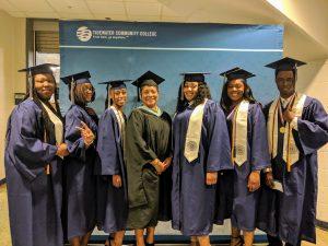 Portsmouth Public Schools dual enrollment graduates.