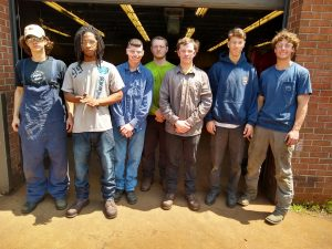 The Welding graduates for the afternoon session are Seth Messinger, Deandre Crandle, Brandon Reichelderfer, Derek Klein, Hayden Lowery, Kyle Ball and Mason Krawzik.