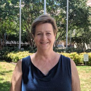 Professor Debra Duffy at the Norfolk Campus
