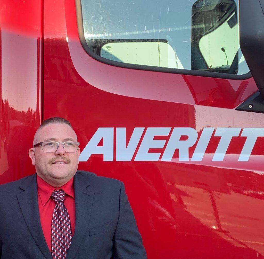 TCC alum Tim Raub is a Navy veteran who now drives trucks.