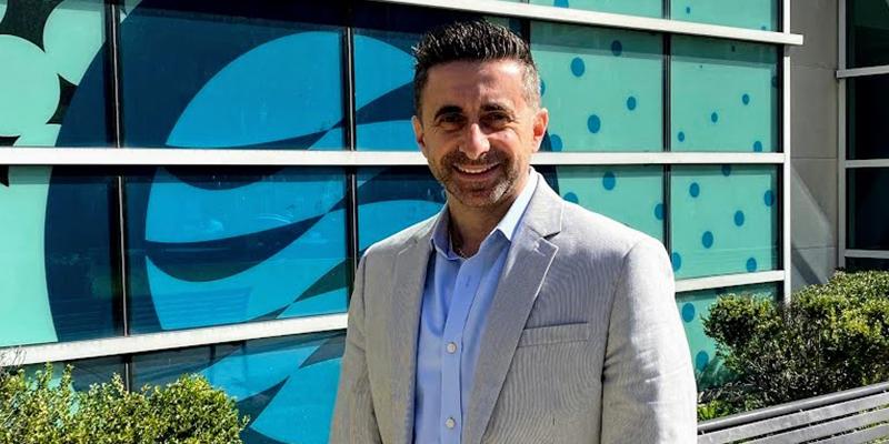 Professor Antonio Passaro on TCC's Norfolk Campus